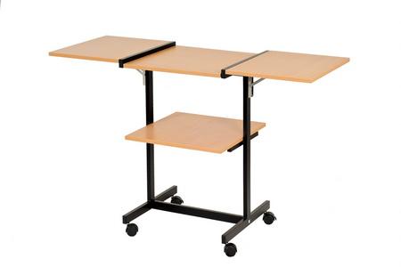 stolik pod rzutnik dwa boki składane