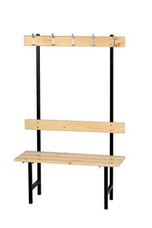 ławka z wieszakiem jednostronna